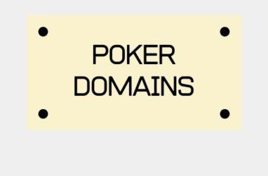 Poker Domains